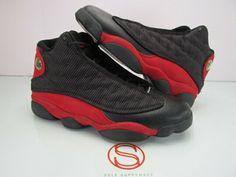 new arrival a3cdd f5048 2013 Nike Air Jordan XIII 13 Retro BLACK RED BRED 10.5  fashion  clothing