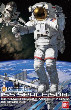 1/10 ISS船外活動用宇宙服 AZモデル