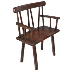 18th C. Irish  Hedge Chair | From a unique collection of antique and modern chairs at https://www.1stdibs.com/furniture/seating/chairs/