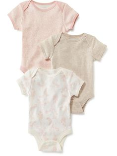 Onesie One-Piece 3-Pack for Baby