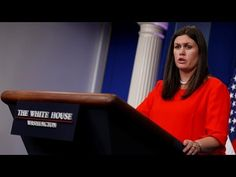 LIVE: Sarah Sanders White House Press Briefing Conference 9/1/17 White H...