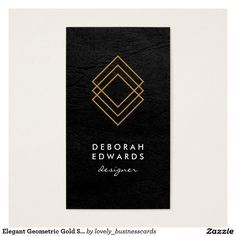 Elegant Geometric Gold Squares Faux Leather #BusinessCard #geometric #leather #geometricgold #luxurious #partyplanner #eventplanner #consultant #goldsquares #blacktexture #fashiondesigner #contemporary #gold #luxe #modern #fauxgold #golden #pattern #black #elegant #squares #faux #lines #boxes #goldboxlines #geometricgoldsquaresfauxleather #new #modernistic #simple #minimalist #cursive #designfirm #graphicdesigner #lawfirm #icon #lawyer #attorneyatlaw #fashion #fancy #fancytext