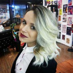Highlights by Marcio Simbas #circushair #circuspamplona #hair #highlights #ombre #fashion #style