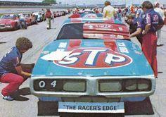 Joe Bilkens' Petty Dodge Charger at Talladega in the 70's