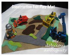 Ideas for felt play mats