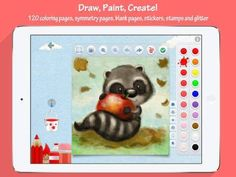 FREE for a limited time! Mini Monet - Creative Studio and Art Club for Kids for iPad - a coloring/painting app with extra features. Creative Kids, Creative Studio, Educational Apps For Kids, Blog Love, Arts And Entertainment, Art Club, Art Studios, Monet, Games For Kids