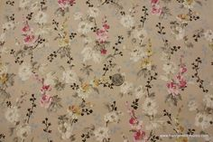 1920's Vintage Wallpaper Romantic white and by HannahsTreasures, $20.00