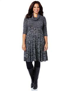 Space Dye Sweater Dress