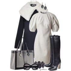 """""""Alexander McQueen Wool Dress"""" by cynthia335 on Polyvore"""