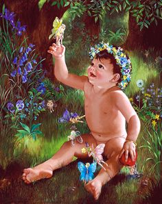Mary Koski fairies art