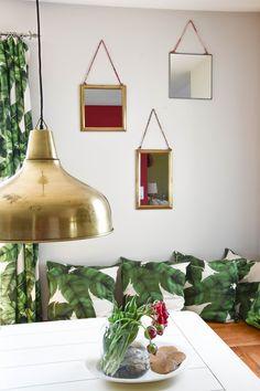 diy rosen strauss arrangement deko dekoration esszimmer dekoidee sommmer