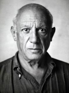 Portrait of Pablo Picasso by Michel Mako, 1950