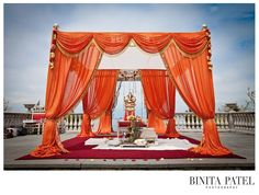 Love this mandap drapes!