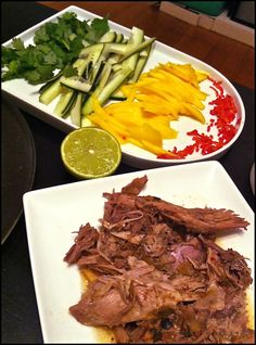 Frank slow cooked pork tacos
