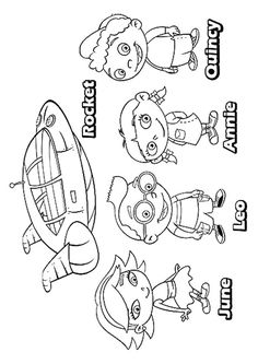 Top 10 Free Printable Little Einsteins Coloring Pages Online