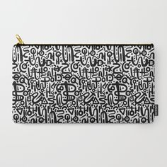 ABSTRACT 0015 Carry-All Pouch