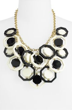 kate spade new york 'octagonal' statement necklace
