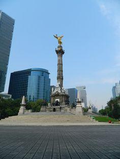 notengoniputaidea: El Ángel de la Independencia, en la Ciudad...