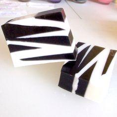 omg zebra soap!