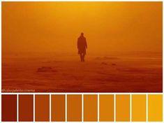 Blade Runner (2017) Movie Color Palette, Colour Pallette, Cyberpunk, Color In Film, Cinema Colours, Mood And Tone, Film Studies, Film Grab, Blade Runner