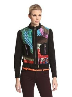 51% OFF Desigual Women's Patchwork Jacket