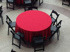 Corporate luncheon #Atlanta #rental #black #resin #chair #table #linen #luncheon