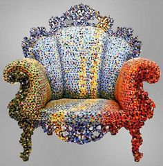 """Colorful """"Proust"""" Armchairs by Alessandro Mendini"""