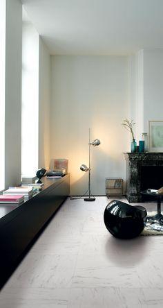 Quick-Step Arte 'Marble carrara' (UF1400) Laminate flooring - www.quick-step.com