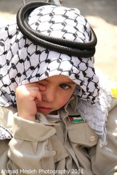 don't cry little angel, Palestine will be free...InshaAllah...