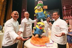First place and runner ups named after sold out live show of America's favourite Cake Boss – Buddy Valastro 65 cakes judged by Emirates Cake Boss Buddy, Buddy Valastro Family, Carlos Bakery Cakes, Bomb Cake, Disney Cakes, Cooking Chef, Cupcake Cakes, Cupcake Ideas, Cupcakes