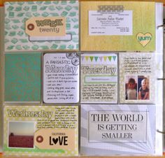 Project Life layout with FEW PHOTOS for those weeks I forget to snap a photo | Amy Tangerine