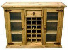 Wine Rack   Rustic Furniture   Western Furniture