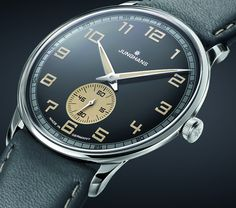 """Junghans Meister Driver Handaufzug Watches - on aBlogtoWatch.com """"Of all the brands continuously flocking towards the 'vintage' train as of late, Junghans is probably the trend's most unexpected addition – especially considering how the German brand's pedigree for a clean, minimalist design language is the sort of stuff that the fad is largely emulating. No matter, the newly announced Junghans Meister Driver Handaufzug ('Handwound') is a welcome addition to the Baselworld 2016 lineup..."""""""