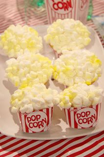 i must try to make pop corn cupcakes...