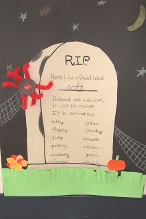 """The Inspired Classroom - dead words: words to """"bury"""" and replace with better words"""