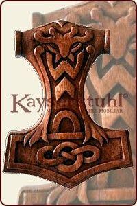 Thors Hammer (Mjölnir) mit Knoten II