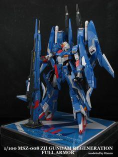 gunota:  1/100 MSZ-008 Z-II Gundam Regeneration Full Armour