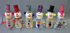 These Mason Jar snowmen are simply too cute not to share. Description from amybayliss.com. I searched for this on bing.com/images