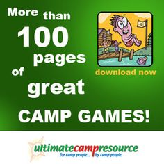 100 camp themes- this is amazing as she gives you at least 5 activities for literally 100 themes- excellent starting place for camp or indeed a nights programme!!