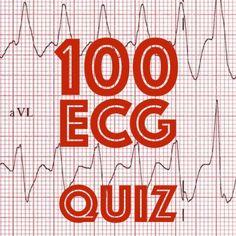 LITFL 100 ECG quiz. Clinical cases and self assessment to enhance interpretation skills through various EKG problems. Ideal preparation for examinations