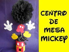 Centro de Mesa Mickey Mouse (Centerpice Mickey mouse) - YouTube