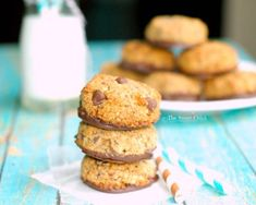 Hazelnut Coffee Chocolate Chip Cookies by The Sweet Chick