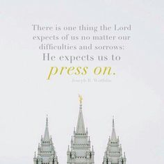#lds Mormon Quotes, Lds Quotes, Uplifting Quotes, Great Quotes, Quotes To Live By, Inspirational Quotes, Motivational, Qoutes, Temple Quotes