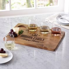 Wine Flight Serving Set