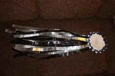 duct tape homecoming mum tutorial :)