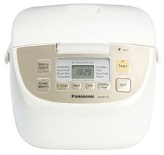 Panasonic 5-Cup Rice Cooker for $70.06 – EXP 12/31/2012