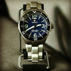 The Commodore Blue ($638.00) by @tempestwathces is a great looking diver .