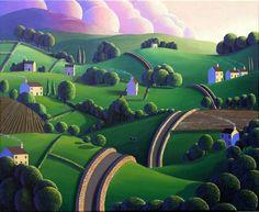 Peaceful Place, Paul Corfield