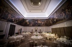 Great Room wedding breakfast RSA House  London Wedding