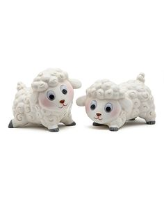 Love this Lamb Salt & Pepper Shakers by Sugar High Social on #zulily! #zulilyfinds
